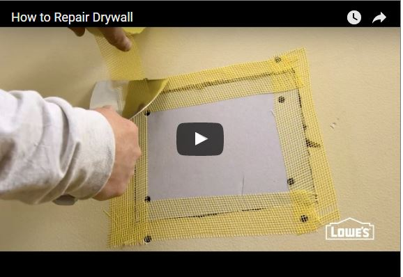 Drywall Patch Kit Lowes With